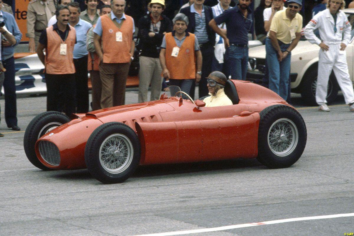 Juan Manuel Fangio Lancia Ferrari D