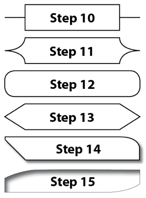 You can make a great-looking flowchart in InDesign if you know what
