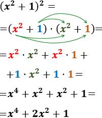 Calculamos El Producto X 2 1 X 2 1 X 4 2x 2 1 Blog De Matematicas Cursos De Matematicas Polinomios