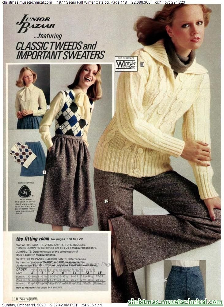 1977 Sears Fall Winter Catalog, Page 118 - Christm