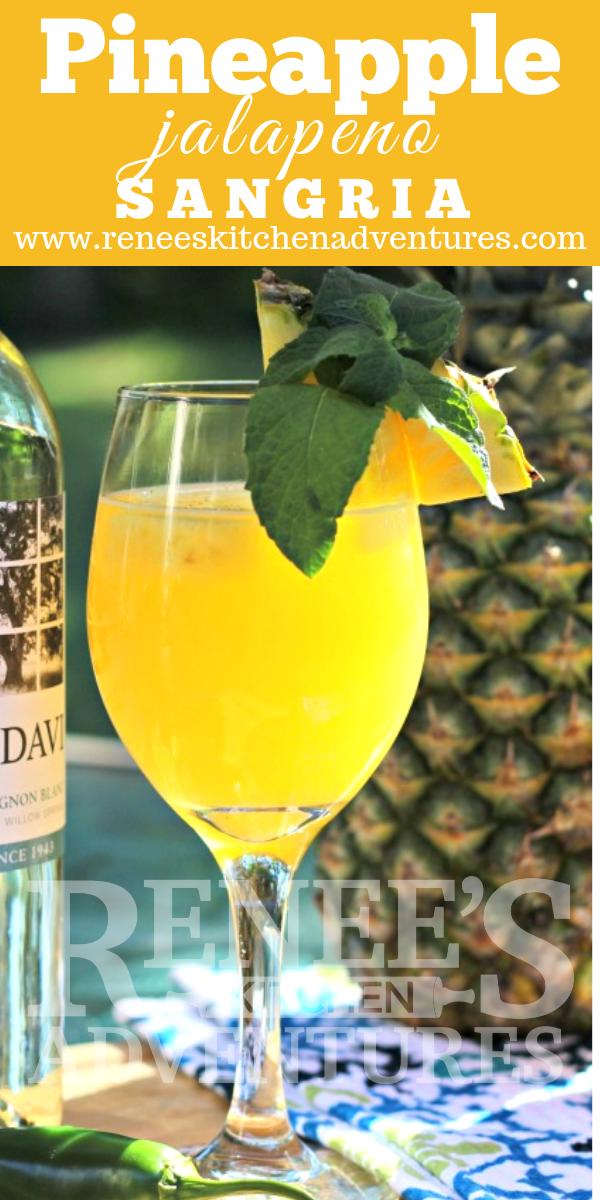 Pineapple-Jalapeno Sangria