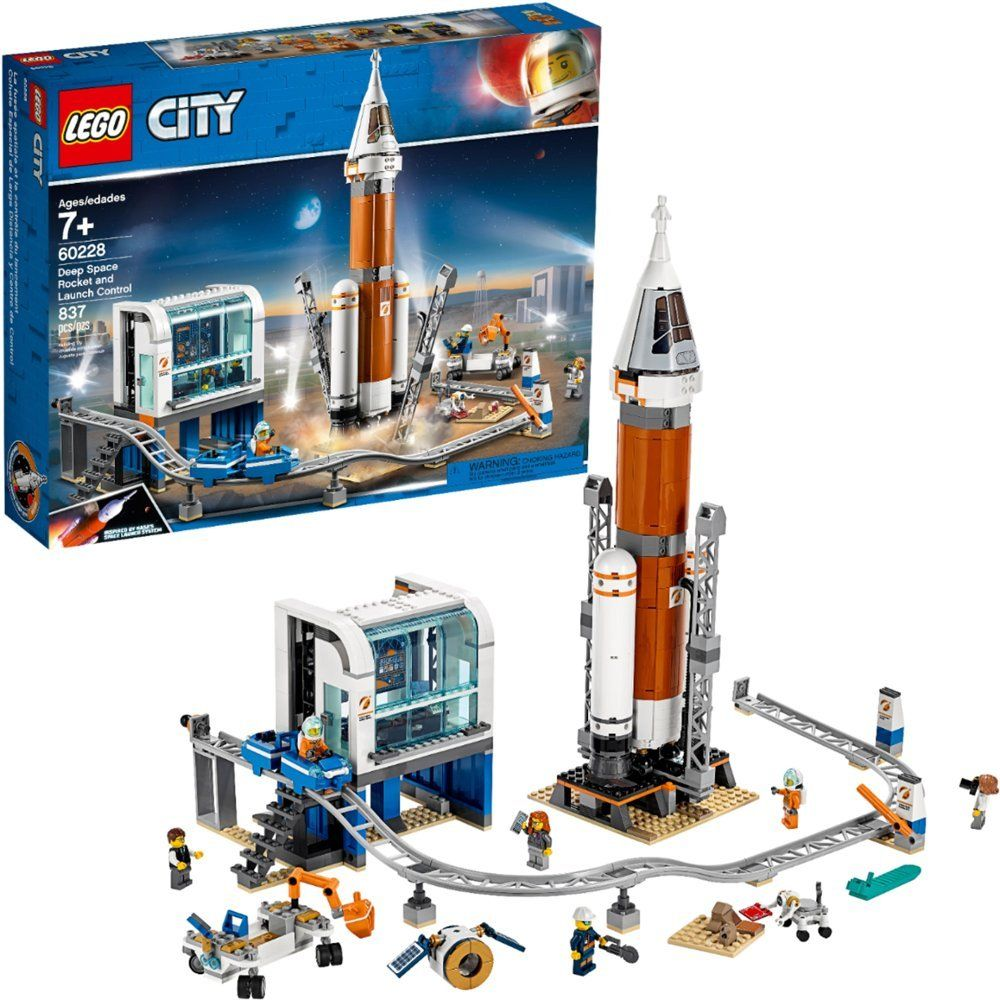 Lego City Deep Space Rocket And Launch Control 60228 6251727 Best Buy In 2020 Lego City Space Lego City Lego Space