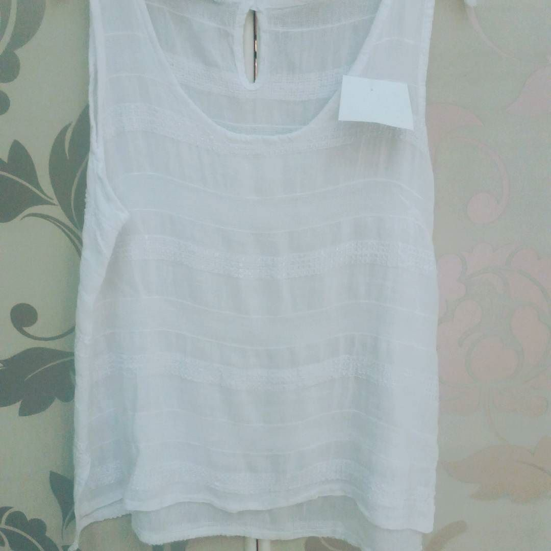 #canotta #bianca #cotone #valeria #abbigliamento