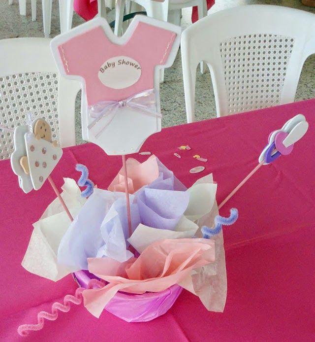 Ideas Para Unos Centros De Mesa Para Baby Shower Econmicos Baby
