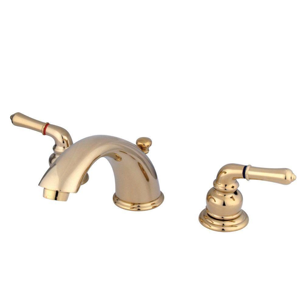 Home Kingston Brass Bathroom Faucets Widespread Bathroom Faucet