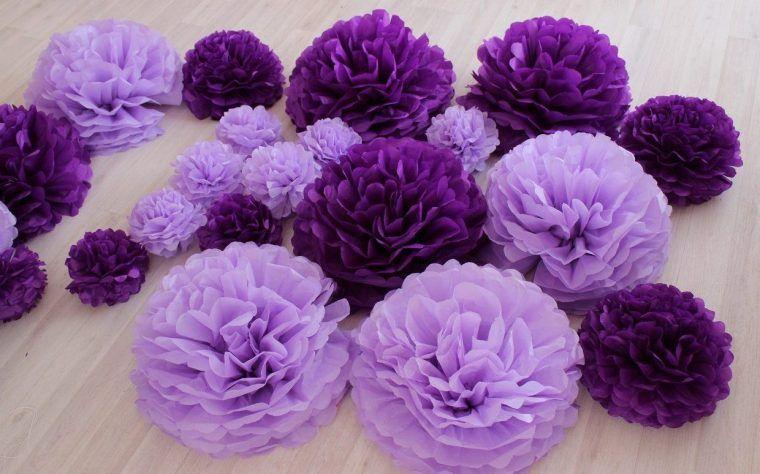 Как сделать цветы из гофрированной бумаги своими руками ...