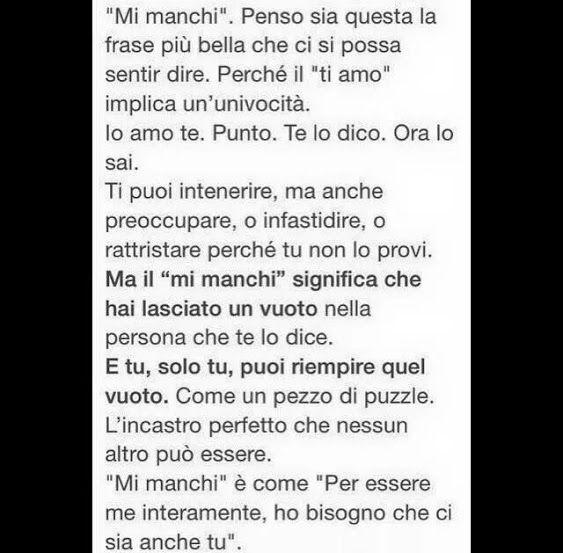 "Favorito Mi manchi"" .. buonanotte.. #Aforismi   frasi   Pinterest   Mi  JH29"