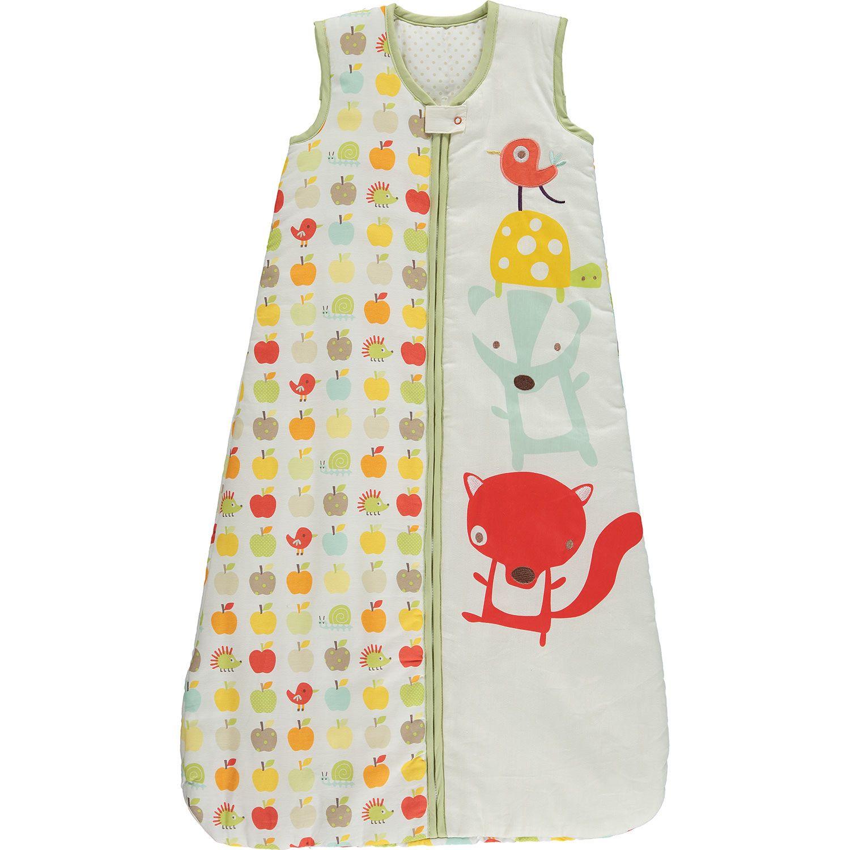 Mamas & Papas Cream Woodland Creature Sleeping Bag.  #Bargain Price: Was £24.00 | Now £14.00  http://tinyurl.com/zg5c2ht  #baby