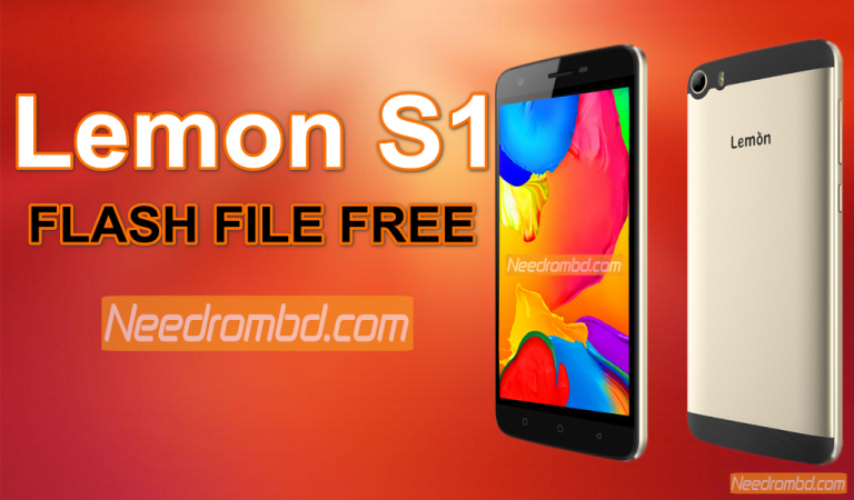 Lemon S1 MT6580 Flash File Without Password | Smartphone