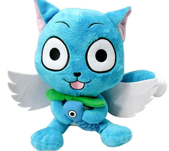 Hey, I found this really awesome Etsy listing at https://www.etsy.com/listing/199071791/30cm-cute-fairy-tail-happy-plush-doll