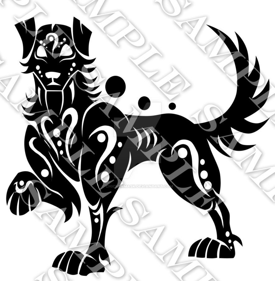 Year Of The Dog Dog Tattoos Dog Chinese Zodiac Animal Symbolism
