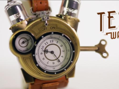 Tesla Armbanduhr Steampunk Gothic Uhr Watch In Baden Wurttemberg Giengen An Der Brenz Ebay Kleinanzeigen Steampunk Uhr Uhr Steampunk