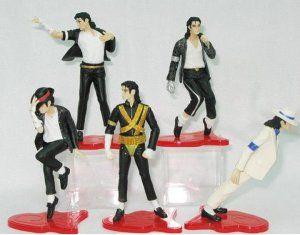 Michael Jackson Figure Set Display Decoration Collection