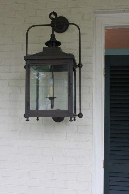 greek revival exterior lighting