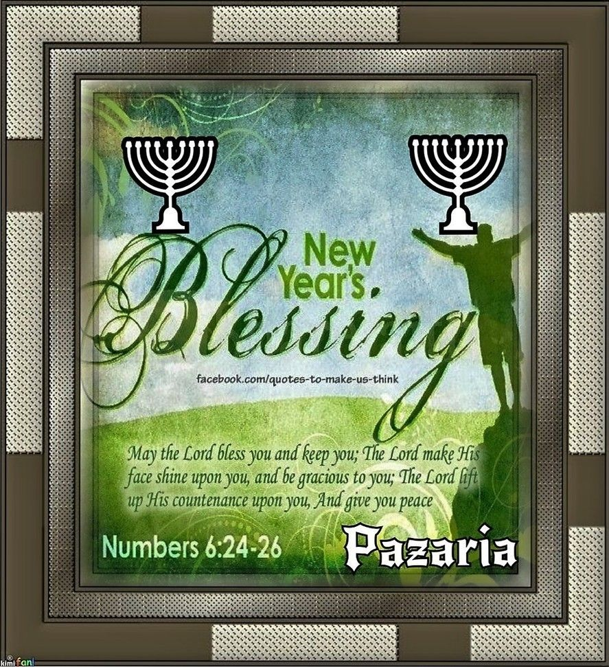 NEW YEAR'S BLESSINGS!!!      Father I thank You for the Greatest Gift ever given to mankind...You Son Jesus We thank You that You are and will restore to us the years that the swarming locust had eaten. We Speak the Sincere Blessings of God upon Your people...in Jesus' Name Amen.