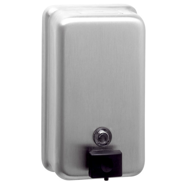 Bobrick Classicseries B 2111 Surface Mounted 40 Oz Soap Dispenser Soap Dispenser Bathroom Soap Dispenser Stainless Steel Dispenser