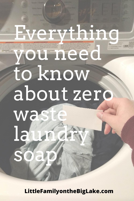 Zero Waste Laundry Soap Eco Friendly Laundry Detergent Zero