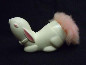 AVON Bunny Powder Puff 1970s