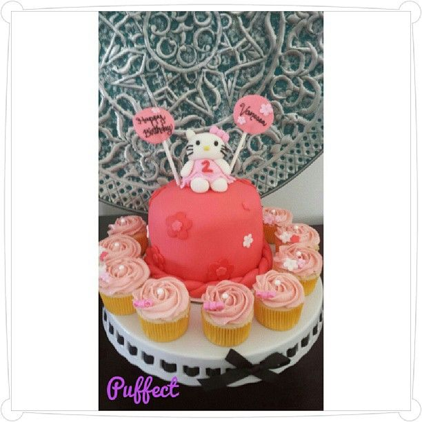 #HelloKitty Fondant #BirthdayCake!