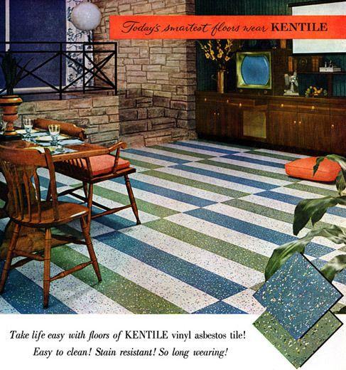Mid Century Linoleum Google Search Vinyl Tile 1950s Decor Flooring