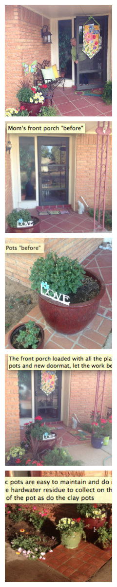 decorate your #porch-#diy with fresh #flowers and #colors, Hause ideen