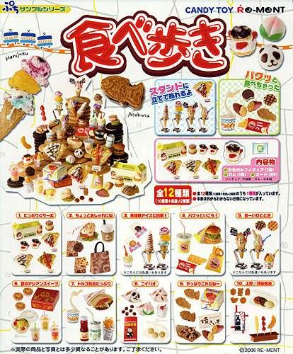 Re-ment Dollhouse Japan Have A Bite Ice Cream Sweet Snacks Set Full set of 10
