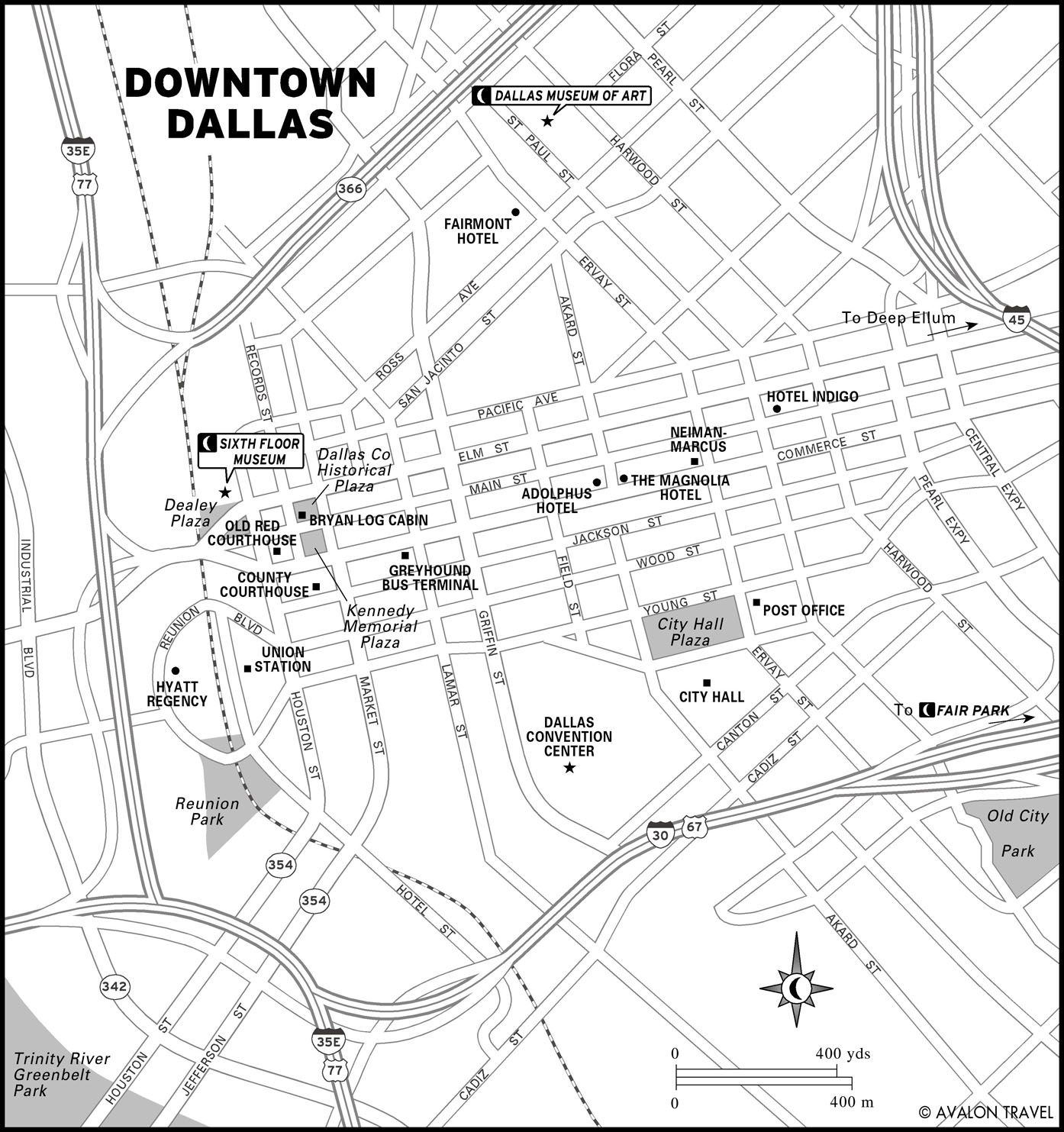 Printable Travel Maps Of The Southwest  Texas Us Travel Maps - Map of houston hotels downtown