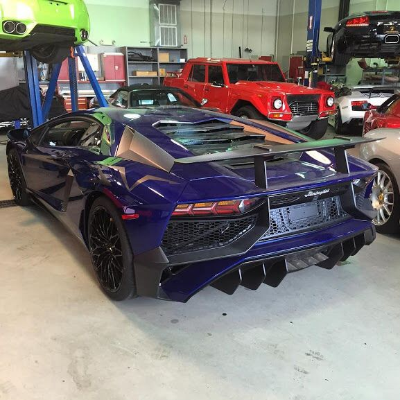 Lamborghini Aventador Super Veloce Coupe Painted In Blu Sideris Photo Taken By Cars Of Maryland Virginia On Flickr Steve Lp750 On Instagram Is Owner Of Th