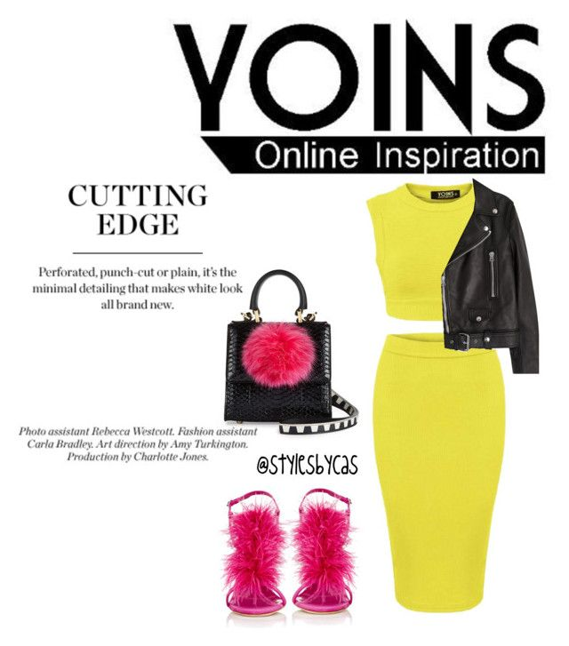 """""""Bright Edge"""" by queenofcas on Polyvore featuring Les Petits Joueurs, Manolo Blahnik and Acne Studios"""