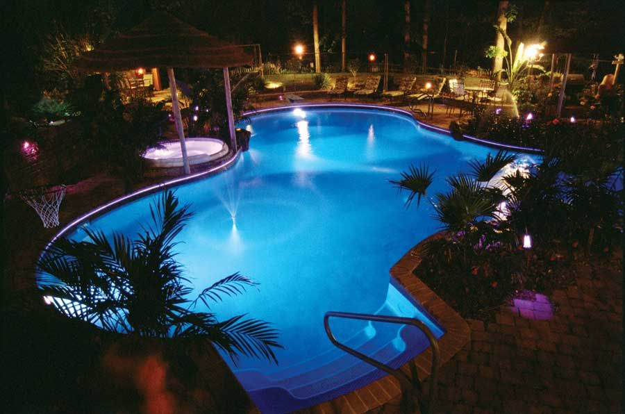 How you use LED lights for fun and lighting Vinyl pools