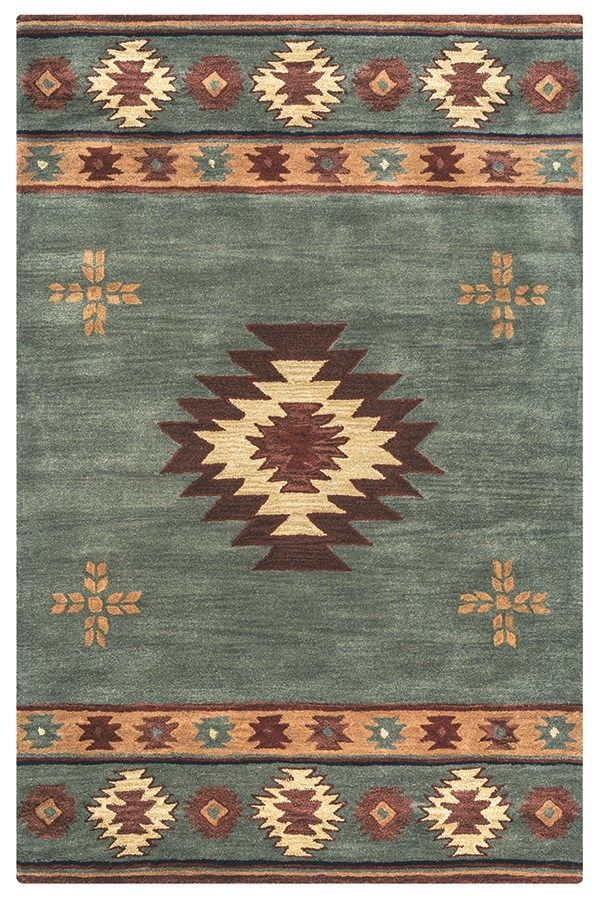 Rizzy Home Southwest SU 2008 Area Rugs in 2020   Southwest ...