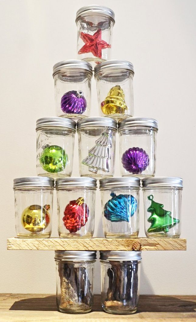 15 festive ways to decorate with mason jars diys jar and 15 festive ways to decorate with mason jars solutioingenieria Image collections
