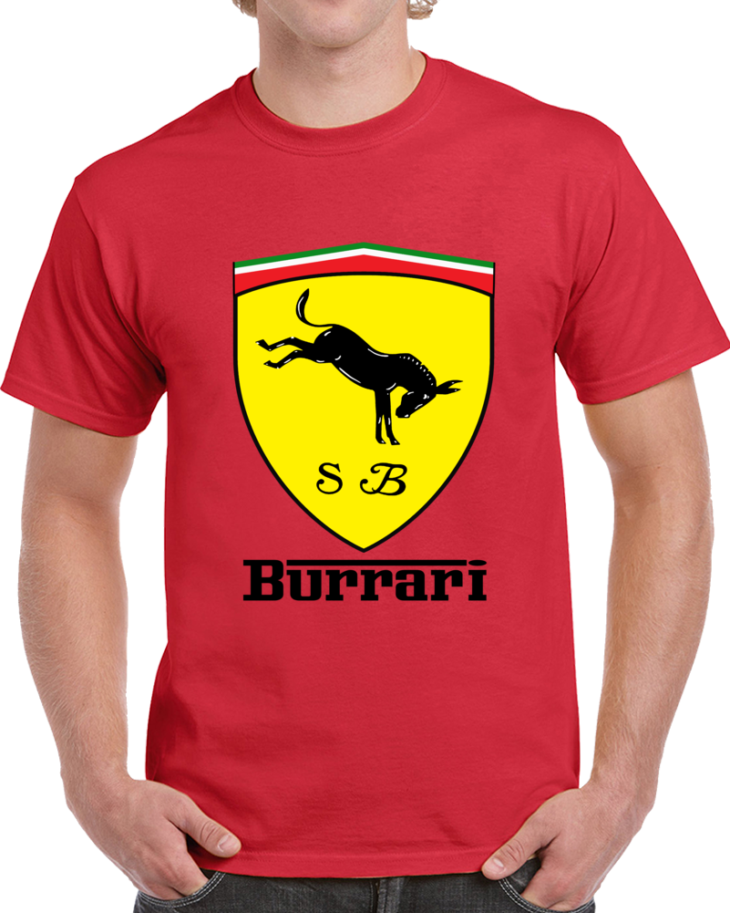 scuderia size img top short red ferrari products shirt boys t horse s girl yellow emblem sleeve worth logo boy lorena