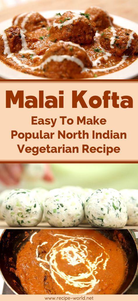 Malai Kofta - Easy To Make Popular North Indian Vegetarian Recipe images