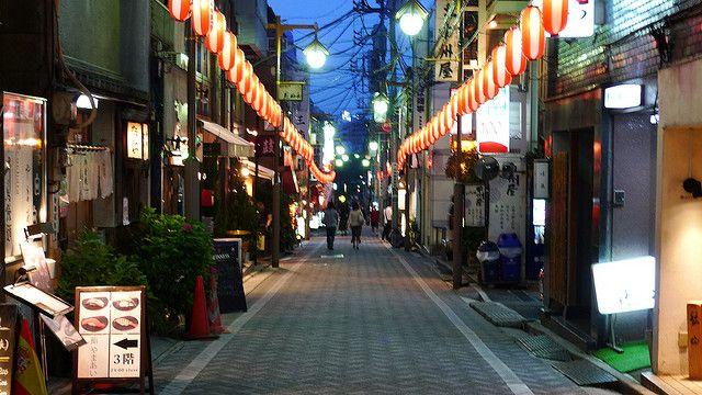 Kagurazaka District in Tokyo at dusk | Japan | Pinterest ...  Kagurazaka Dist...