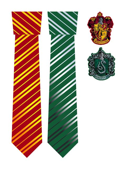 Iron On Harry Potter House Ties And Crests
