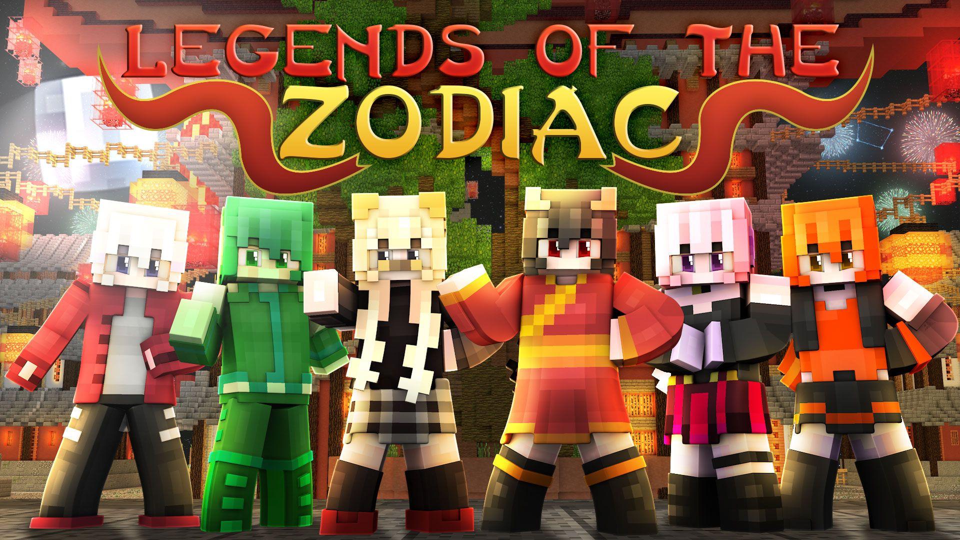 Legends of the Zodiac  Minecraft Skin Pack  New zodiac
