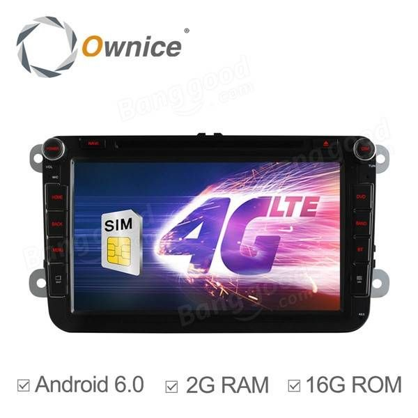 484943c36 Ownice C500 OL-8992F HD 7Inch 4G Wifi Car DVD Player Android 6.0 Quad Core GPS  For Volkswagen Skoda