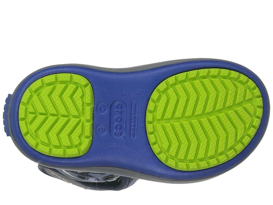 6173aeff1ed Crocs Kids Lodge Point Graphic Snow Boot (Toddler/Little Kid) Kids ...