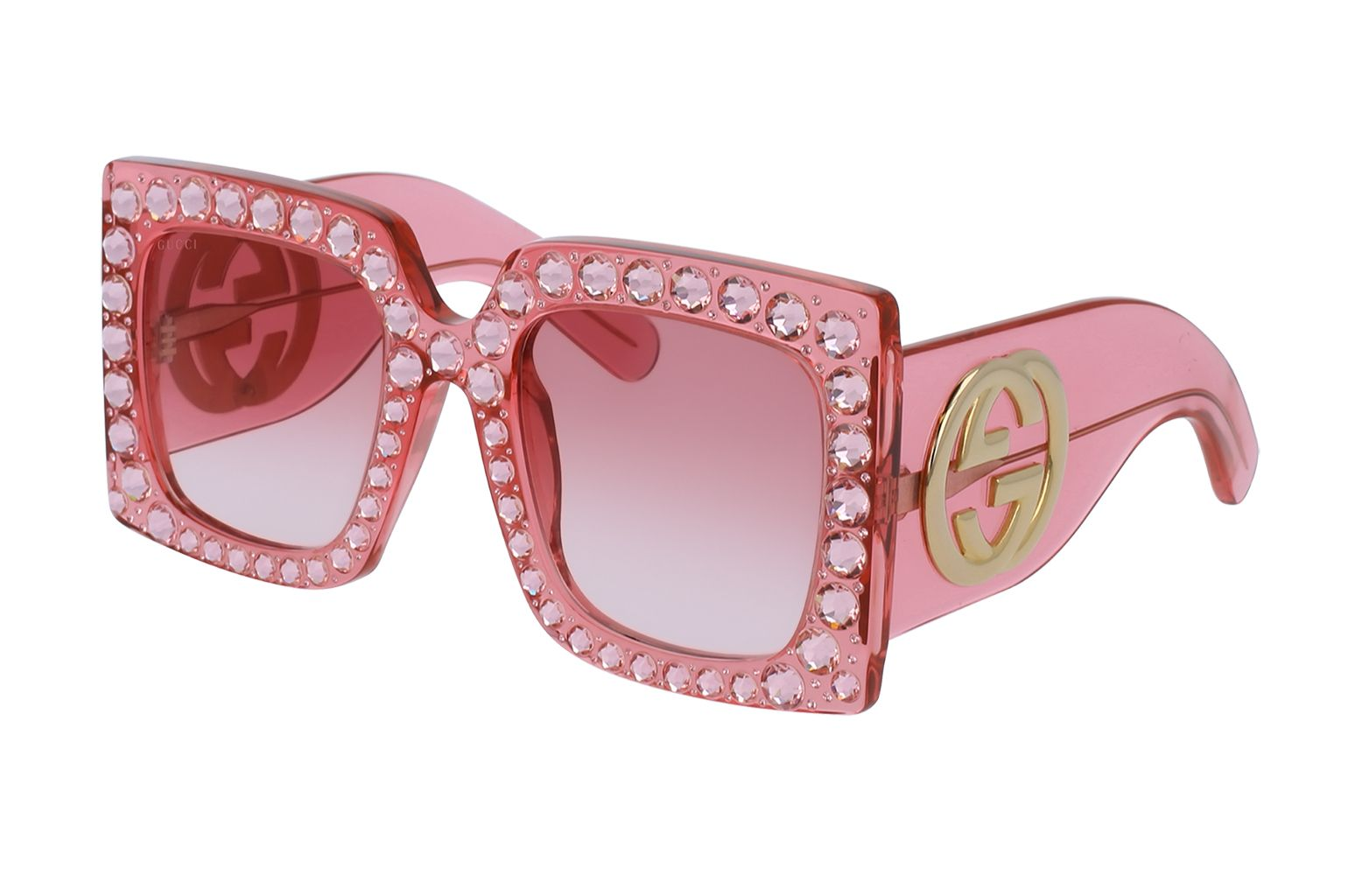 7318c2ca6f3 Rihanna s After-Party Gucci Sunglasses  All About the Elton-Like .
