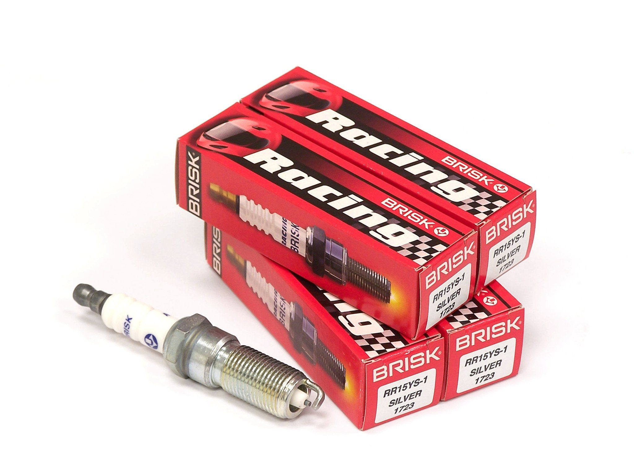 Brisk Silver Racing Rr15ys Spark Plugs 4 Pack Ford Focus St 2 0l Focus Zetec Fiesta Tivct 1 6l Ford Focus Spark Plug Plugs