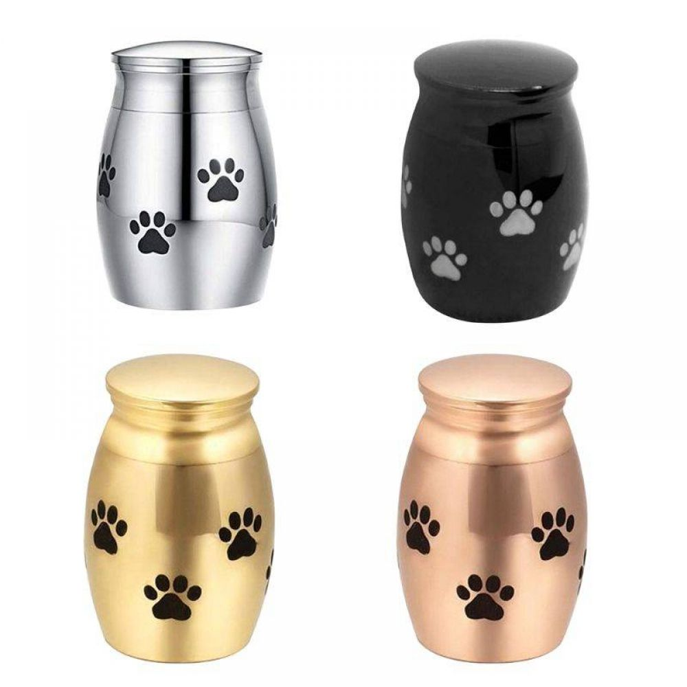 Pet Cremation Urns Stainless Steel Ash Urns Memorial Container Dog Cat Perfect Resting Place Stor In 2020 Pet Cremation Urns Pet Urns Pet Urns Dogs