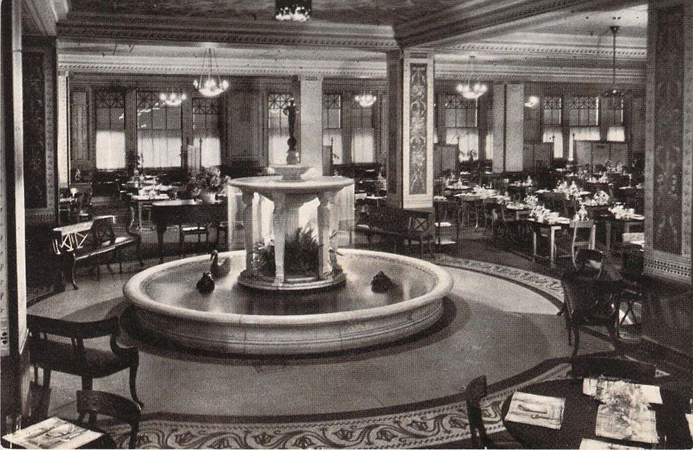 Marshall Field, Narcissus Fountain Room,Chicago, IL, ILL ...