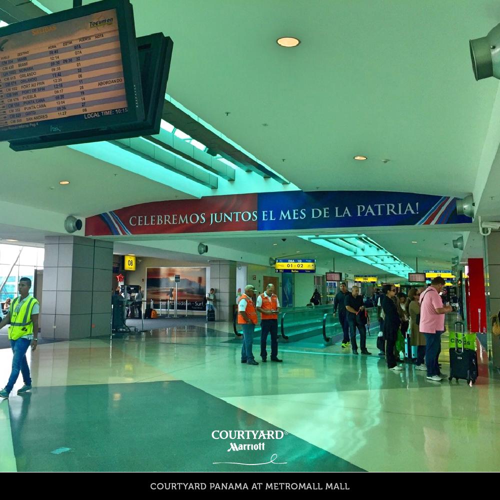 Una placentera estadía te espera en nuestro hotel. Contamos con una ubicación privilegiada, a pocos minutos del Aeropuerto Internacional de Tocumen. #Panama