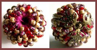 Manekis pärlblogg: Teknik: Vira en pärlad pärla