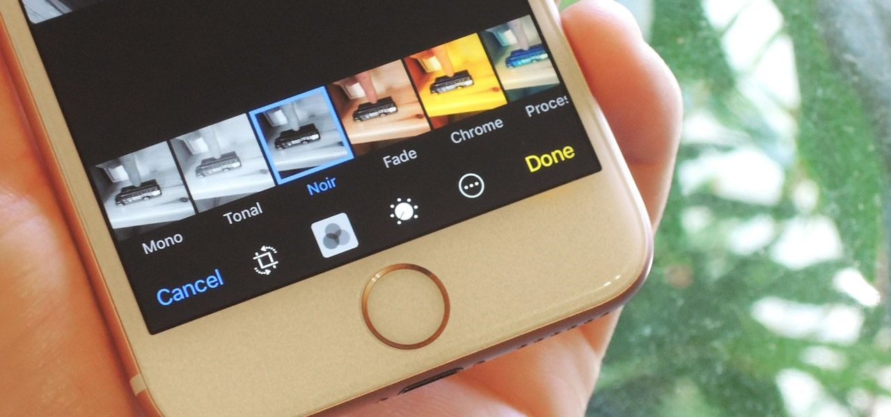 How to ios 10 lets you edit crop add filters to live