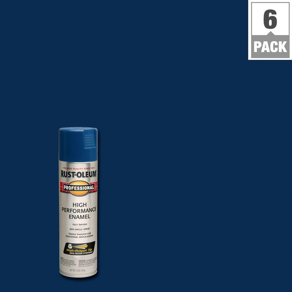 Rust-Oleum Professional 15 oz  High Performance Enamel Gloss Royal