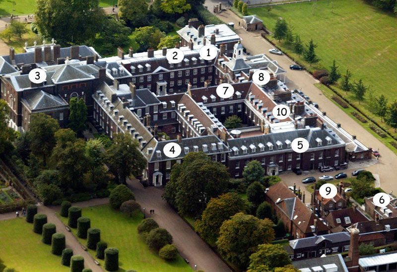 Kate And William 39 S Kensington Palace Home In London