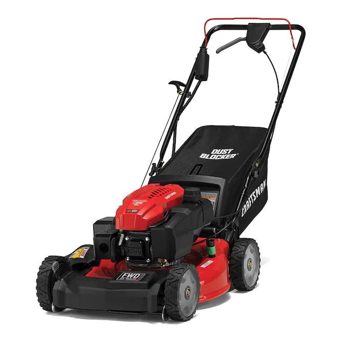 Craftsman M270 159 Cc 21 In Self Propelled Gas Push Lawn Mower Craftsman Lowes Com In 2020 Push Lawn Mower Lawn Mower Craftsman