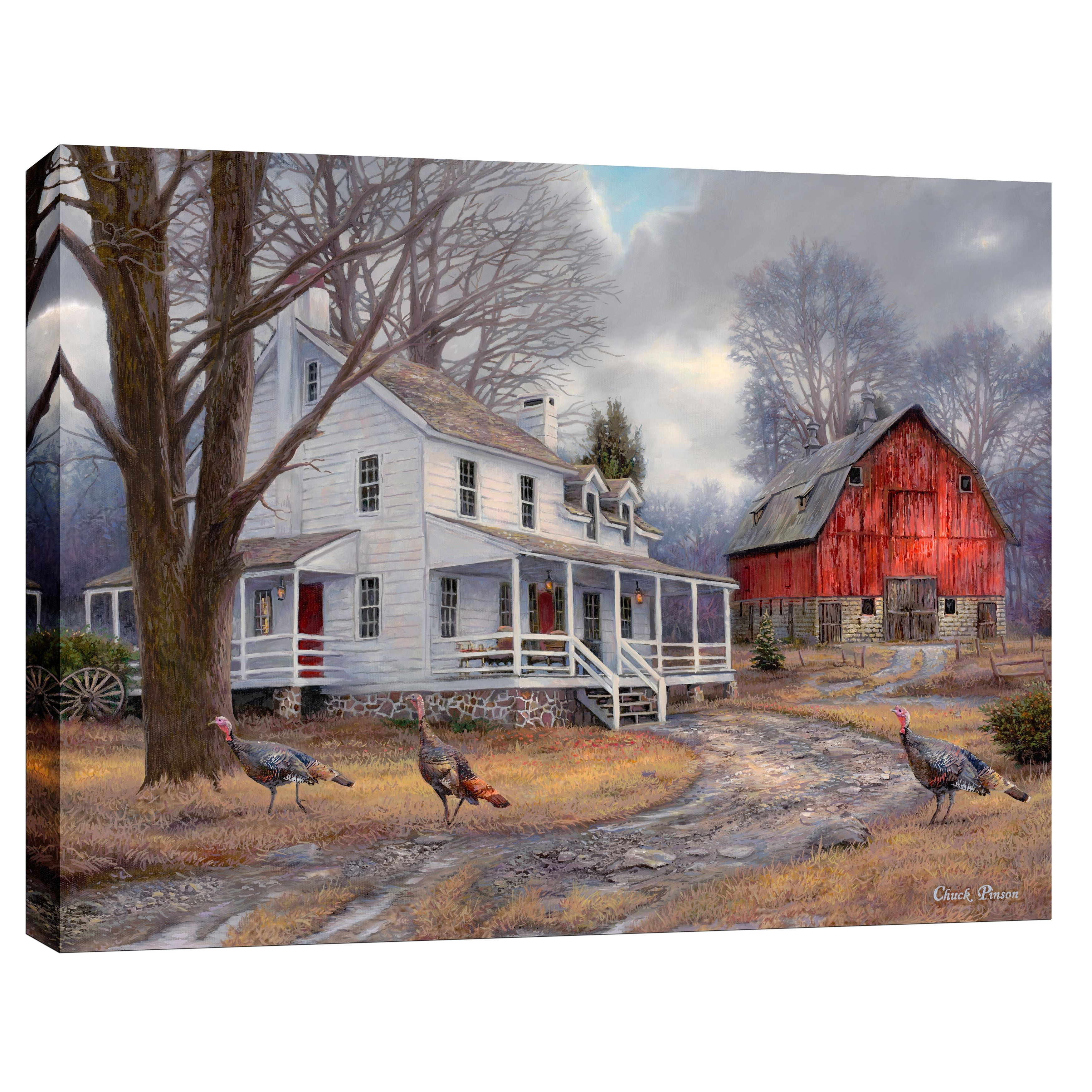 """Cortesi Home """"The Way It Used To Be"""" by Chuck Pinson Giclee Canvas Wall Art"""